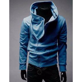 Hoodie Sudadera Slimfit Moda Oriental Chamarra Fleece Blazer