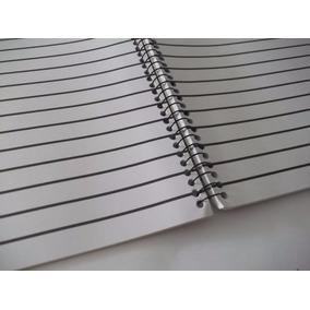 Cadernos Braille Univ. Flex 50 Fls Pautas Largas Kit 4 Unid