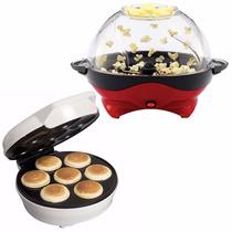 Pack Blanik Maker Cabritas Pop Corn + Cupcake Recetario / Tb