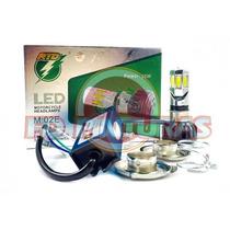 Lampada Super Led 3500lm H4 M5 Carro Moto Universal+ Brinde