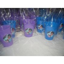 Vasos Plásticos Souvenirs-golosineros X10 Y Bolsitas Transpa
