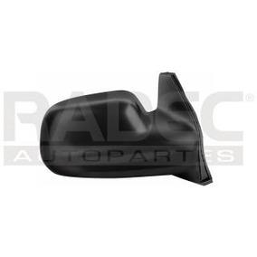 Espejo Chevrolet Tracker 1999-2000-2001-2002 Manual Negro
