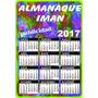 Souvenir Iman Con Almanaque