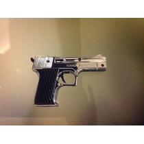 Pistola Tipo Escuadra De Juguete Y Broma Con Puntero Láser