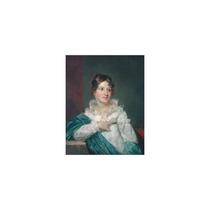 Pintura Arte Mrs. Daniel Desaussure Bacot Art, 18 X24