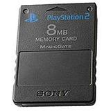 Playstation 2 Tarjeta De Memoria De 8 Mb (negro)
