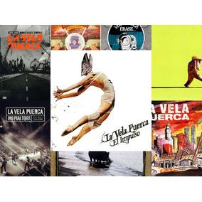 Discografía La Vela Puerca 6 Cds+ 2cd+dvd Open Music