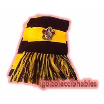 Bufanda Gryffindor Tejida Harry Potter Igo Coleccionables!