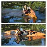 Kayak Austral Deatlantikayak + Remo Ideal Travesia Y Touring