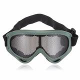 Óculos De Proteção Militar Combate Verde Oliva