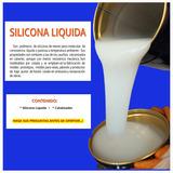 Materia Prima Para Hacer Moldes Silicona 1 Kg.colorscake