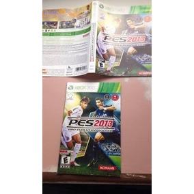 Xbox 360 Manual E Encarte Originais Konami Pes 2013 R$8,00