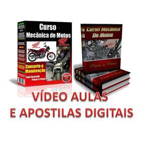 Mecânica De Motos E Injeção Eletrônica 56 Dvds D