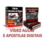 Curso 55 Dvds Mecânica De Motos E Injeção Eletrônica