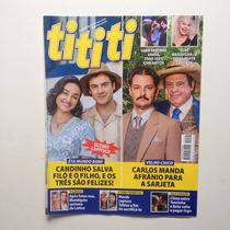 Revista Ti Ti Ti Luan Santana Juliana Alves Ano 2016