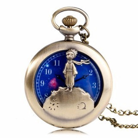 Reloj De El Principito Con Cadena (reloj De Bolsillo)