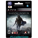 Ps3 Middle-earth¿: Shadow Of Mordor [ Digital ] [pcx3gamers]