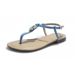 Sandalia Rasteira Dumond Azul Infantil - Cod.: 4111669