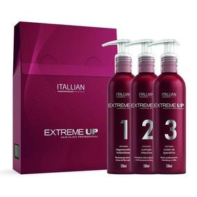 Kit De Reconstrução Capilar Extreme Up Italian Hair 3 Passos