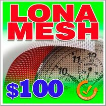 Lona Mesh Para Anuncios Ligeros De Gran Tamaño