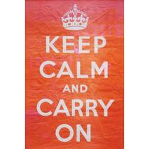 Lienzo En Tela Posters Segunda Guerra Mundial Keep Calm