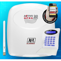 Kit Central De Alarme Monitorada Active 20 Gprs Jfl