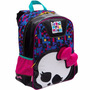 Mochila Infantil Escolar De Costas Monster High Skulette