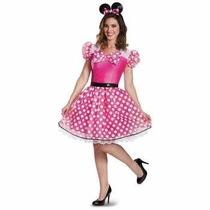 Disfraz De Minnie, Mimi Mouse Para Damas, Envio Gratis