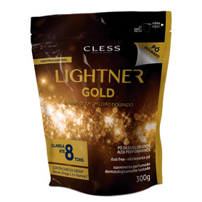 Pó Descolorante Lightner Gold 8 Tons Refil 300g