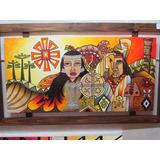 Cuadro Mapuches, Acrilicos Sobre Tela, Originales Unicos