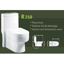 Vaso Sanitário C/caixa Acoplada R250- Assento C/ Amortecedor