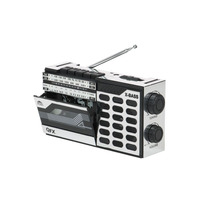 Mini Reproductor De Cassette Y Radio De Onda Corta 0028