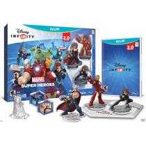 Jogo Infinity 2.0: Kit Inicial Marvel Super Heroes - Wii U