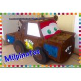 Piñata Cars,mate,hot Wheels,rayo Mac Queen.fiestas Infantile