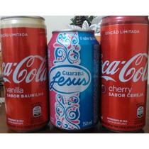 Latas Coca Cola Baunilha -cereja E Guarana Jesus