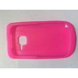 Capinha Rosa Escuro Para Nokia C3-00