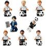 Minifiguras De Futebol Alemanha Campeã Do Mundo 2014 Fifa