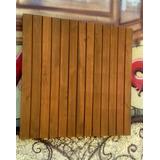 Deck De Madeira Maciça Em Cedro /piso Laminado Taco/rustico