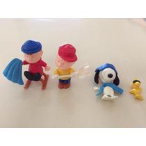 Coleção Snoopy Kinder Ovo - Anos 90 - Raros - 4 Personagens
