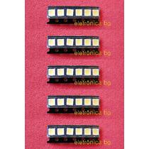 Led Backlight 6v Tv Toshiba 48 Philco 48 | Kit C/ 40 Leds