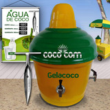 Gelacoco Serpentina De Água De Coco Maquina Coqueira