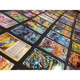100 Pokemon Tarjeta Lote 1 Con Experiencia Pokemon Ex, Mega