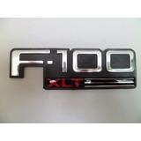 Emblema Insignia (f-100 Xlt) En Guardabarro Ford F-100 96/01