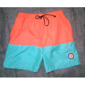 Shorts Playeros Combinados Para Caballeros