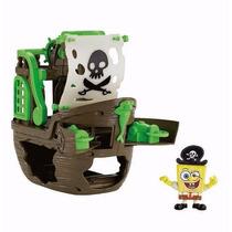 Bob Esponja Navio Do Pirata Fisher Price Imaginext
