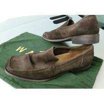 Sapato Mocassim Camurça Masculino Side Walk 39 Marrom Usado