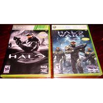 Lote Halo Combat Evolved Anniversary Y Halo Wars Xbox 360