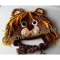 Gorros Niños Y Adultos Tejidos Crochet Tejidos