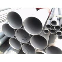 Tubo De Acero Inoxidable De 1 1/4 De 6.10 Mts En Calibre 16