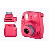 Camara Fotografica Instantanea Fujifilm Instax Mini 8 Rojo
